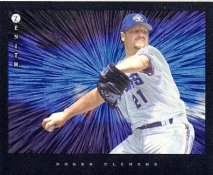 Roger Clemens LIMITED STOCK Toronto Blue Jays Pinnacle Zenith Dufex 8X10 Photo