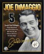 Joe DiMaggio LIMITED STOCK New York Yankees Merrick Mint 8X10 Photo