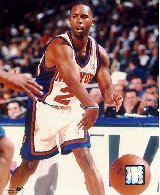 Charlie Ward New York Knicks 8X10 Photo LIMITED STOCK