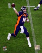 Peyton Manning 509 TD Passes All-Time Record Action Shot Broncos SATIN 8X10 Photo