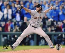 Madison Bumgarner 2014 World Series Game 7 San Francisco Giants SATIN 8X10 Photo