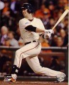 Buster Posey 2014 World Series Game 4 San Francisco Giants SATIN 8X10 Photo