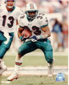 Karim Abdul- Jabbar with Dan Marino Miami Dolphins LIMITED STOCK 8X10 Photo