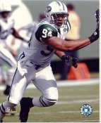 John Abraham New York Jets LIMITED STOCK 8X10 Photo