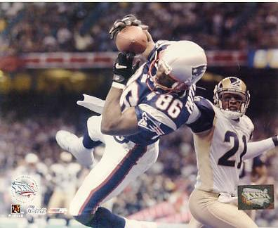 David Patten New England Patriots LIMITED STOCK 8x10 Photo
