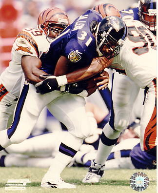 Jamal Lewis Baltimore Ravens LIMITED STOCK 8X10 Photo
