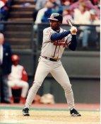 Kenny Lofton Atlanta Braves LIMITED STOCK 8X10 Photo