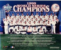 Yankees 1999 World Series Champions New York Team Sit Down LIMITED STOCK 8X10 Photo