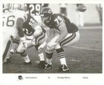 Troy Auzenne Chicago Bears Press Team Issued 8X10 Photo