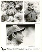 Rich Kotite Coach Philadelphia Eagles Press Team Issued 8X10 Photo