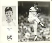 Tommy John New York Yankees Press Team Issued 8X10 Photo
