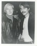 Andy Warhol Press Issued 8x10 Photo