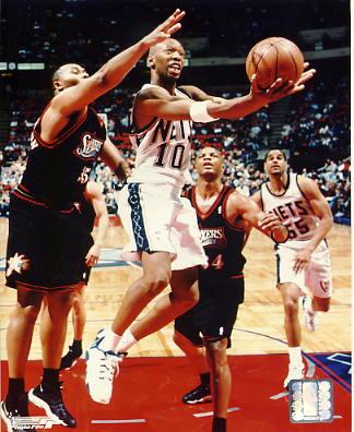 Sam Cassell New Jersey Nets LIMITED STOCK 8x10 Photo