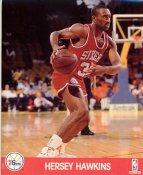 Hersey Hawkins Philadelphia 76ers LIMITED STOCK 8X10 Photo