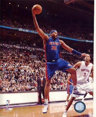 Rasheed Wallace Detriot Pistons LIMITED STOCK 8X10 Photo