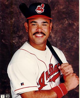 Carlos Baerga Cleveland Indians LIMITED STOCK 8X10 Photo
