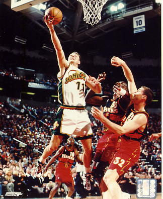 Detlef Schrempf Seattle Sonics LIMITED STOCK 8X10 Photo