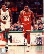 Robert Parish & Hakeem Olajuwon Boston Celtics / Houston Rockets LIMITED STOCK 8X10 Photo