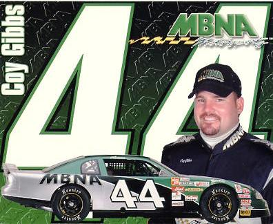 Coy Gibbs Racing LIMITED STOCK Cardstock Paper 8X10 Photo