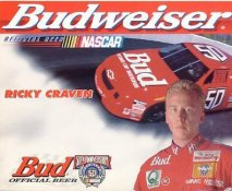 Ricky Craven Racing LIMITED STOCK Cardstock Paper 8X10 Photo