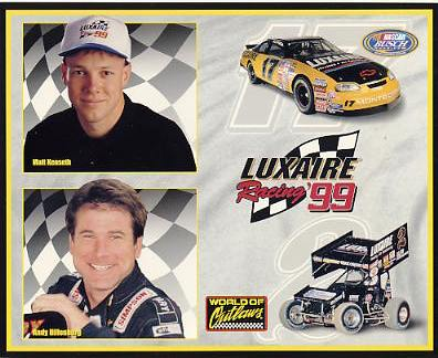 Matt Kenseth & Andy Hillenburg Racing LIMITED STOCK Cardstock Paper 8X10 Photo
