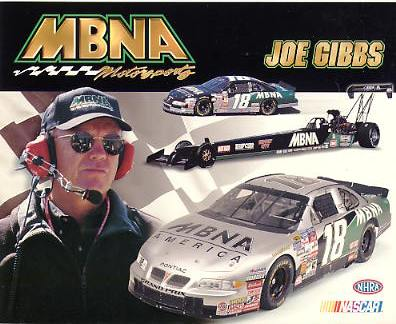 Joe Gibbs Racing LIMITED STOCK Cardstock Paper 8X10 Photo