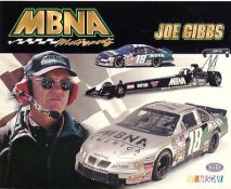 Joe Gibbs Racing LIMITED STOCK Cardstock Paper 8X10 Photo