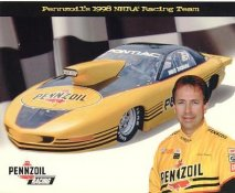 Mike Thomas Racing 1998 LIMITED STOCK Cardstock Paper 8X10 Photo