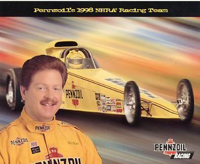 Bill Kent Racing 1998 SUPER SALE Cardstock Paper 8X10 Photo