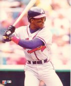 Ron Gant Atlanta Braves Glossy Card Stock LIMITED STOCK 8X10 Photo