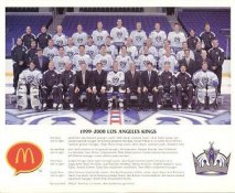 Ziggy Palffy, Luc Robitaille, Dan Bylsma, Rob Blake, Stephane Fiset, Glen Murray, Sean O'Donnell, Aki Berg, Bryan Smolinski etc. Los Angeles Kings 1999-2000 Promo Photo on Glossy Card Stock LIMITED STOCK 8x10 Photo
