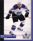 Marko Tuomainen Los Angeles Kings 1999-2000 Promo Photo on Glossy Card Stock SUPER SALE Slight Corner Crease 8x10 Photo