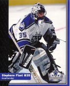 Stephane Fiset Los Angeles Kings 1999-2000 Promo Photo on Glossy Card Stock SUPER SALE 8x10 Photo