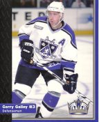 Garry Galley Los Angeles Kings 1999-2000 Promo Photo on Glossy Card Stock SUPER SALE Slight Corner Crease 8x10 Photo