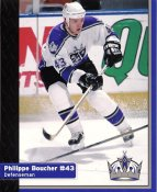 Philippe Boucher Los Angeles Kings 1999-2000 Promo Photo on Glossy Card Stock SUPER SALE 8x10 Photo