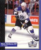 Steve McKenna Los Angeles Kings 1999-2000 Promo Photo on Glossy Card Stock SUPER SALE Slight Corner Crease 8x10 Photo