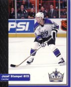 Jozef Stumpel Los Angeles Kings 1999-2000 Promo Photo on Glossy Card Stock SUPER SALE 8x10 Photo