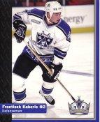 Frantisek Kaberle Los Angeles Kings 1999-2000 Promo Photo on Glossy Card Stock SUPER SALE Slight Corner Damage 8x10 Photo