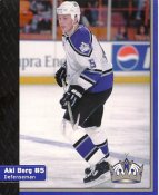 Aki Berg Los Angeles Kings 1999-2000 Promo Photo on Glossy Card Stock SUPER SALE 8x10 Photo