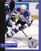 Luc Robitaille Los Angeles Kings 1999-2000 Promo Photo on Glossy Card Stock SUPER SALE Slight Corner Damage 8x10 Photo
