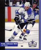 Craig Johnson Los Angeles Kings 1999-2000 Promo Photo on Glossy Card Stock SUPER SALE 8x10 Photo