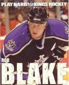 Rob Blake Los Angeles Kings Promo Photo on Glossy Card Stock SUPER SALE Minor Scratches 8x10 Photo