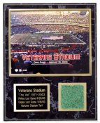 Veterans Stadium Last Game Turf Plaque